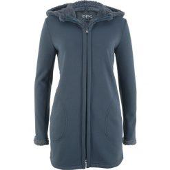 03db577301 Niebieskia odzież damska - Kolekcja wiosna 2019. Bluza rozpinana z  podszewką barankiem bonprix intensywny niebieski. Niebieskie bluzy marki  bonprix.