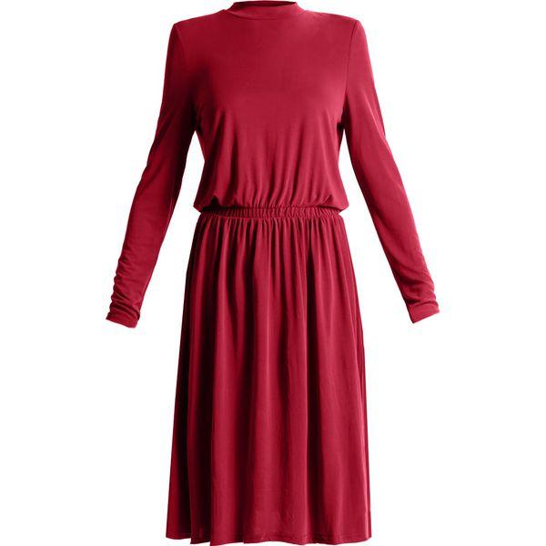 8b5895a02b Vero Moda VMMETTI HIGH NECK Sukienka z dżerseju zinfandel - Czerwone  sukienki marki Vero Moda