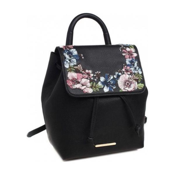 9ee4b495256fc Bessie London Plecak Damski, Czarny - Czarne plecaki marki Bessie ...