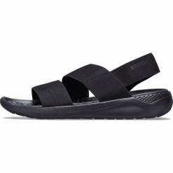 Klapki basenowe Crocs 205468 060 Czarny Damskie Buty