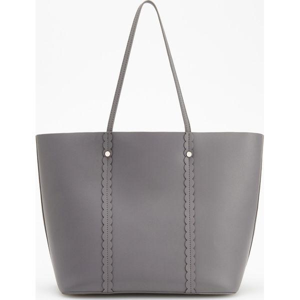 ee4d83fe9b1d6 Torebka typu shopper - Szary - Szare shopper bag marki Reserved. Za ...