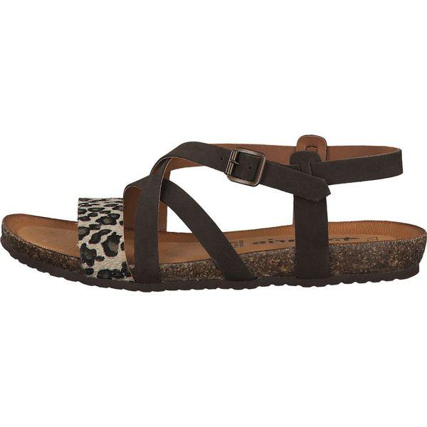 Tamaris sandały damskie 40 brązowy