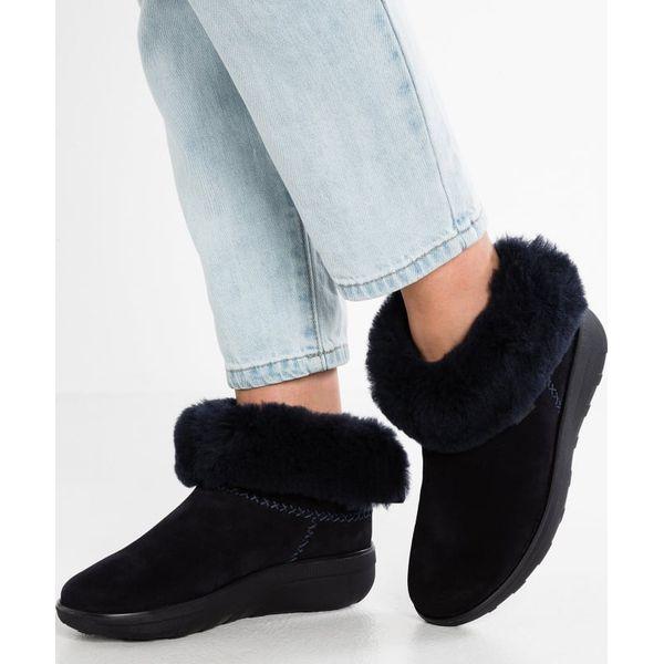 8b8b17f5948d7d FitFlop MUKLUK SHORTY 2 BOOTS Ankle boot supernavy - Moda w Women s ...