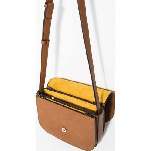 d55efeed2a361 Parfois - Torebka - Brązowe torebki klasyczne marki Parfois