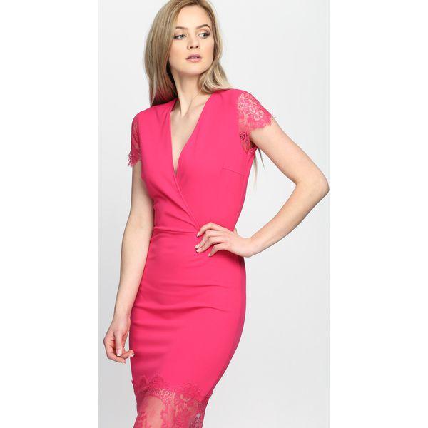8580ffbdf2 Fuksjowa Sukienka Most Curious - Moda w Women s Health