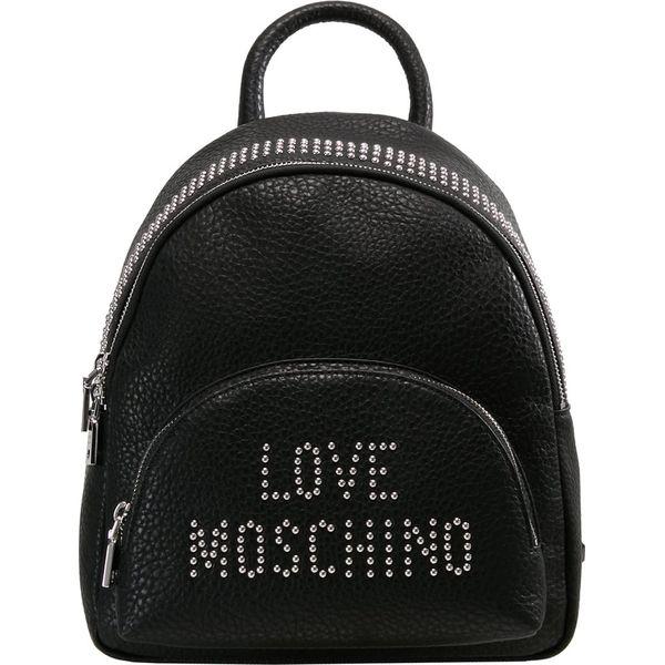 789a546650d61 Love Moschino STUDS BACKPACK Plecak nero - Plecaki marki Love ...