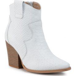 Białe obuwie damskie QUAZI Kolekcja zima 2020 Moda w