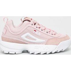 Wyprzedaż różowe obuwie damskie Fila Kolekcja wiosna