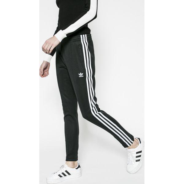 6321ef33580cad adidas Originals - Spodnie - Czarne spodnie dresowe adidas Originals ...