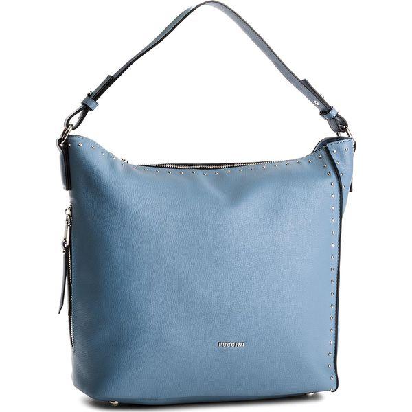 77db6044ed1dd Torebka PUCCINI - BT18505 Blue 7 - Niebieskie torebki klasyczne ...