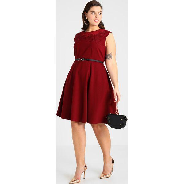 8ea153051f City Chic DRESS FLOWER Sukienka z dżerseju ruby - Moda w Women s Health
