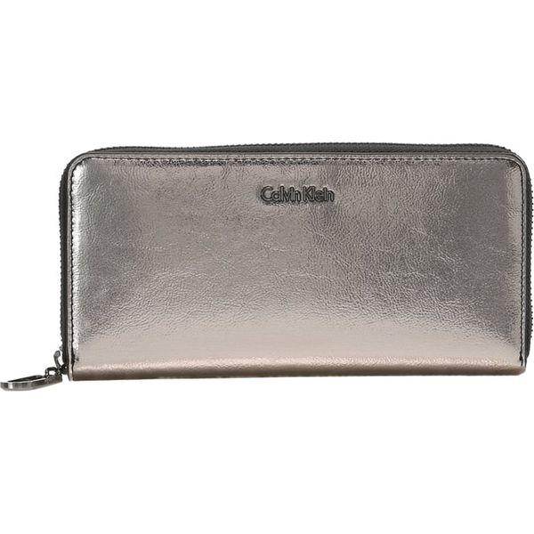 5e383bf3e788d Calvin Klein GIFTING LARGE ZIPAROUND Portfel silver - Szare portfele ...