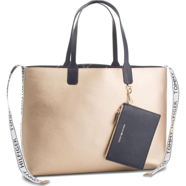 7887e57f4d9ff Torebka TOMMY HILFIGER - Iconic Tommy Tote AW0AW05640 909 - Shopper ...