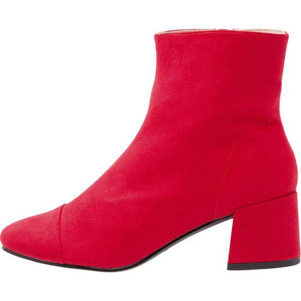 3cfba4b85ea89 Miss Selfridge DELILAH Botki red - Moda w Women's Health