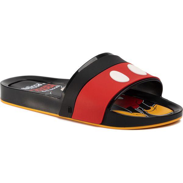 Klapki MELISSA Beach Slide + Mickey A 32781 BlackRedYellow 53211