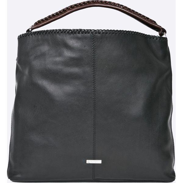 0af0f0293fea1 Ochnik - Torebka skórzana - Czarne torebki klasyczne marki Ochnik, z ...