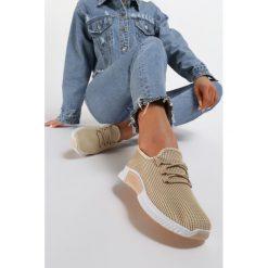 Beżowe buty sportowe, kolekcja wiosna 2020