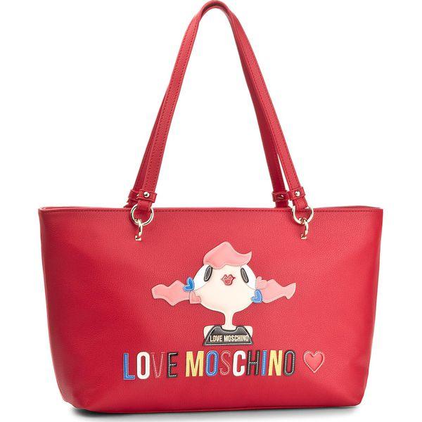 5757318f8b5c6 Torebka LOVE MOSCHINO - JC4087PP15LK0500 Rosso - Czerwone torebki ...