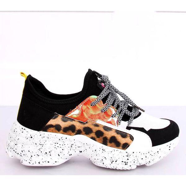 Buty sportowe biało czarne HL 04 Black wielokolorowe