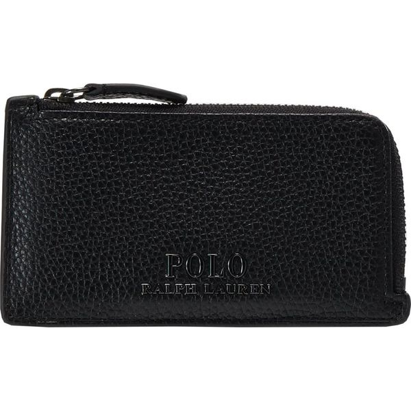 d3f7c897fab3a Polo Ralph Lauren ZIP CARDCASE Portfel black - Portfele marki Polo ...