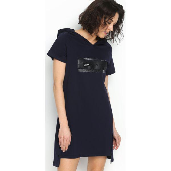 00466b0bd3 Granatowa Sukienka Best Bet - Niebieskie sukienki marki Born2be