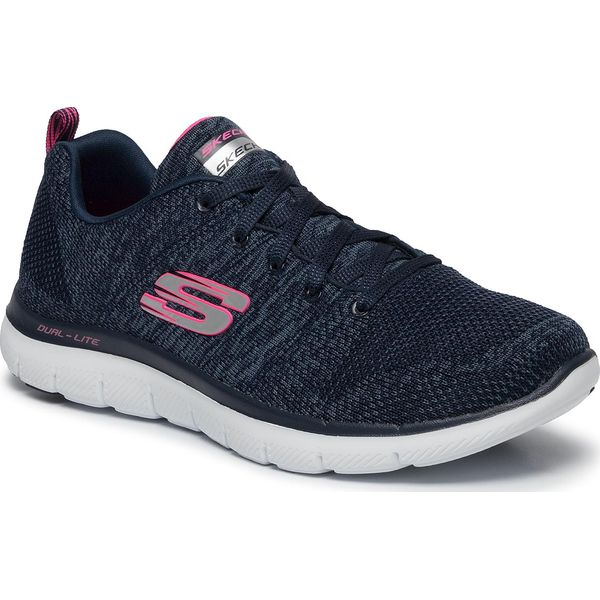 Skechers Sport Skech Air Element Ombre Mesh NavyGreen Shoes