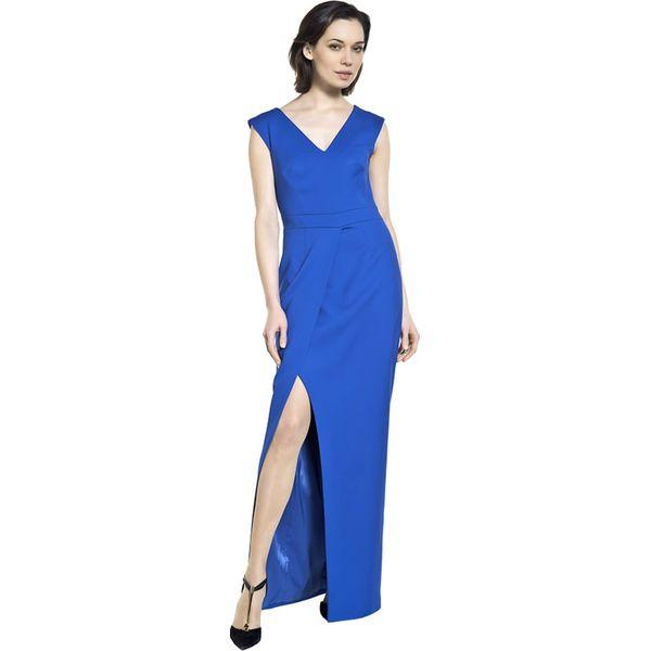 dfc61b276a Sukienka w kolorze niebieskim - Niebieskie sukienki marki Deni Cler ...