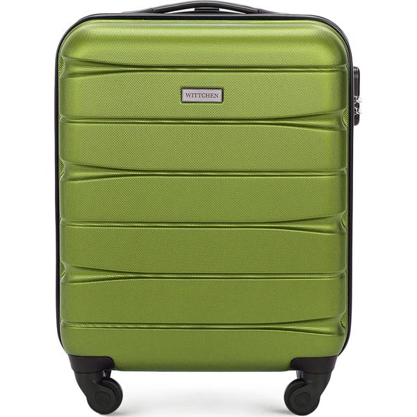 582edf5b896b7 Walizka kabinowa 56-3A-361-80 - Zielone walizki marki Wittchen. Za ...