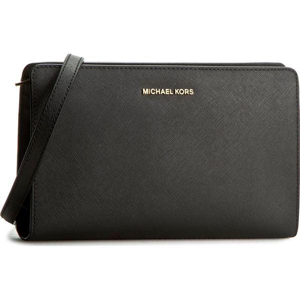 33986079a1a53 Torebka MICHAEL KORS - Jet Set Travel 32F6GTVC3L Black - Czarne ...