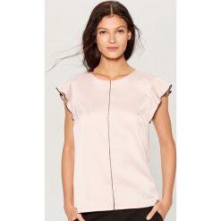 e4e5b45571 Bluzka z krótkimi rękawami - Różowy. Bluzki marki Mohito. Za 59.99 zł.