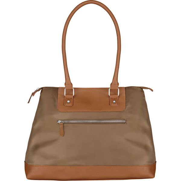 4fcc1d6bb776e Torba shopper bonprix brunatny - Brązowe shopper bag marki bonprix ...