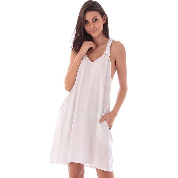8cbf07867f Sukienka w kolorze białym - Białe sukienki marki Fille de Coton
