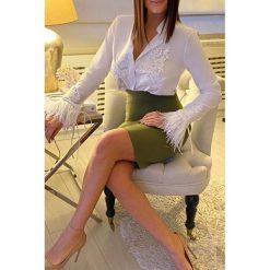Koszula damska RICKA Białe koszule damskie IVET, bez