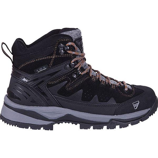 0307434c Skórzane buty turystyczne w kolorze czarnym - Buty trekkingowe marki ...