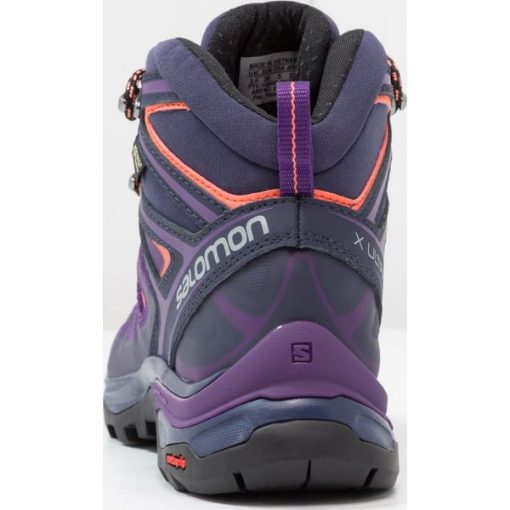 8ba2a410 Salomon X ULTRA 3 MID GTX Buty trekkingowe acai/evening blue/living ...