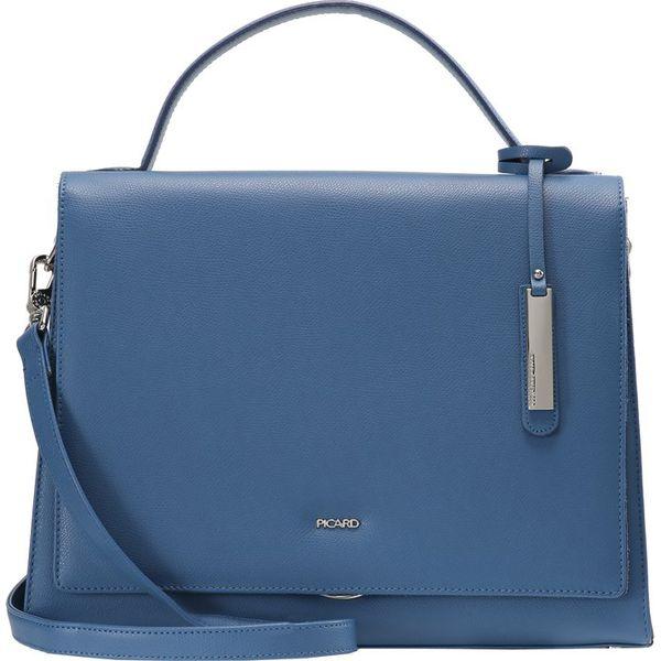 63433e5672997 Picard BERLIN Torebka blue - Niebieskie torebki klasyczne marki ...