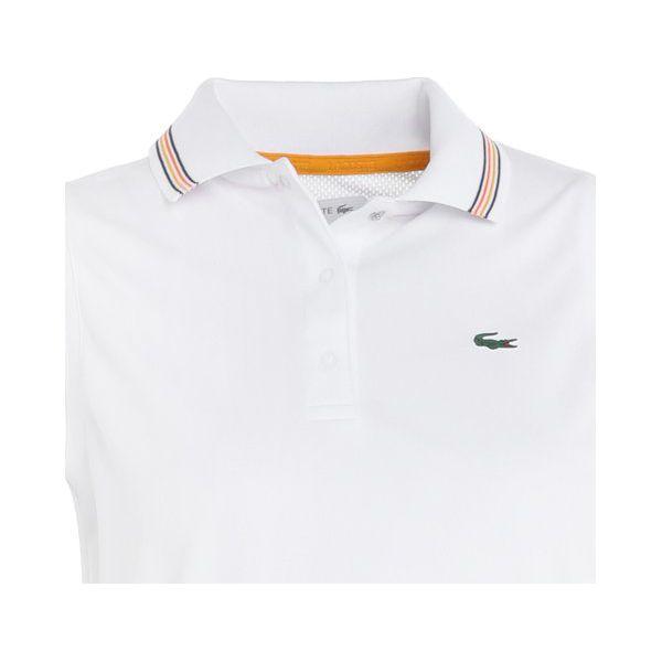 a48395bf1 Lacoste Sport TENNIS POLO SLEEVELESS Koszulka sportowa blanc/bouton ...