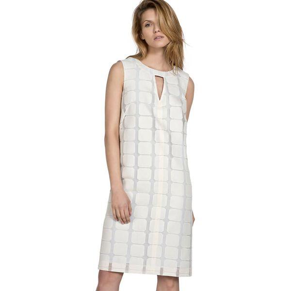 8967b81878 Sukienka w kolorze białym - Białe sukienki marki Deni Cler