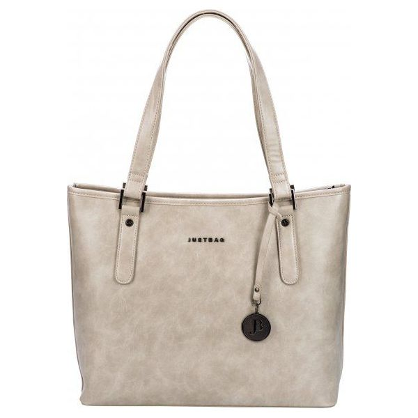 d1bcda3b9b0e0 Justbag Torebka Damska Beżowa - Brązowe torebki klasyczne Justbag ...
