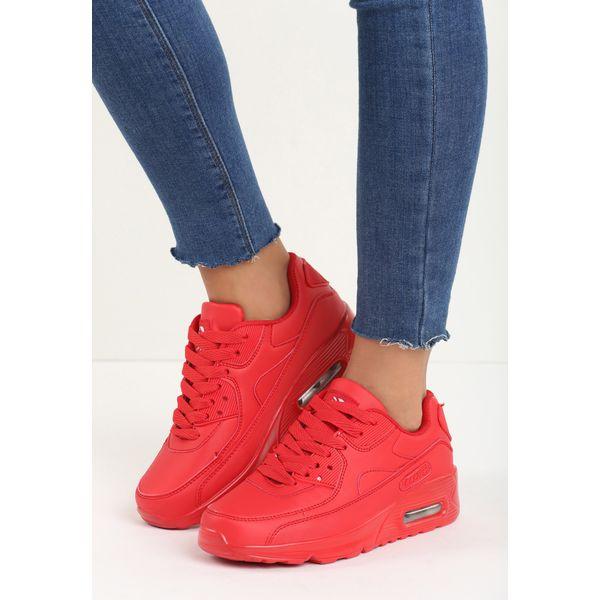 Czerwone Buty Sportowe Classic Nilda