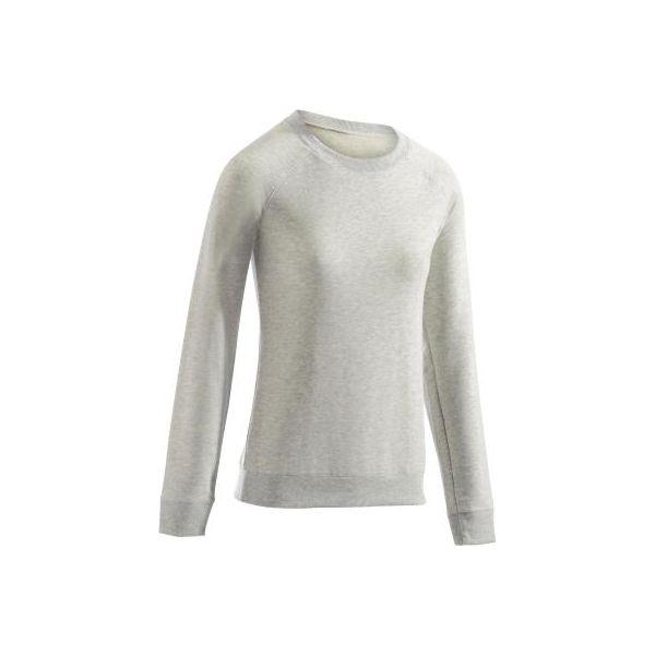 489a75dce858fe Bluza Gym & Pilates 500 damska - Bluzy bez kaptura DOMYOS. Za 34.99 ...