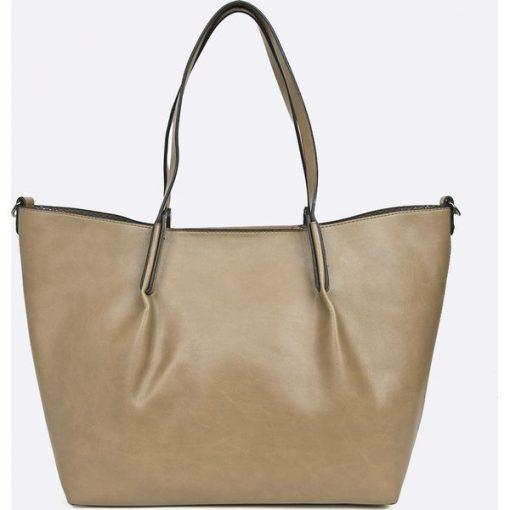 c58f289ddbf0e Pierre Cardin - Torebka - Szare shopper bag marki Pierre Cardin, w ...