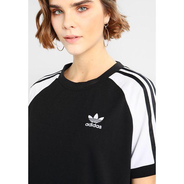 73b8555117 adidas Originals ADICOLOR RAGLAN DRESS Sukienka z dżerseju black ...