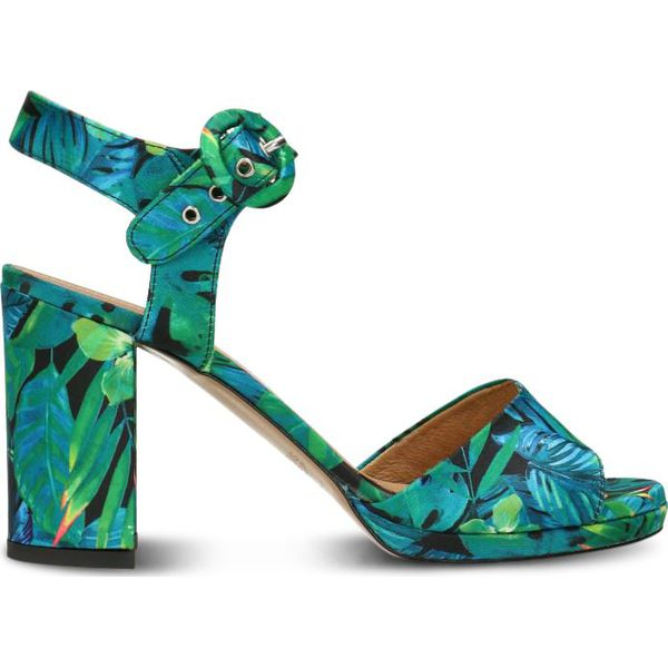 f8cbb8ca08512 Sandały FUMI - Niebieskie sandały marki Gino Rossi, w paski, ze ...