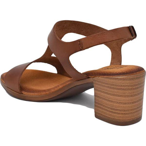 af0a38f8c551f4 Skórzane sandały w kolorze brązowym - Sandały Liberitae. W ...