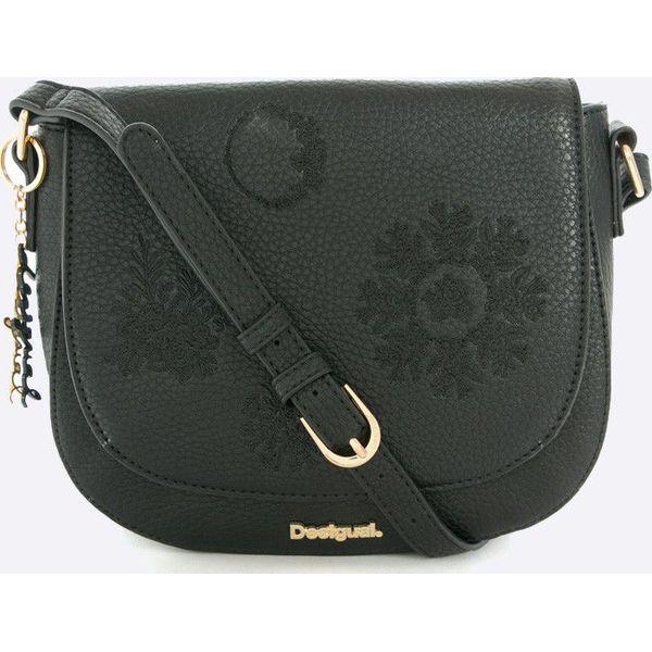 5c261ef02515d Desigual - Torebka - Szare torebki klasyczne marki Desigual, w paski ...