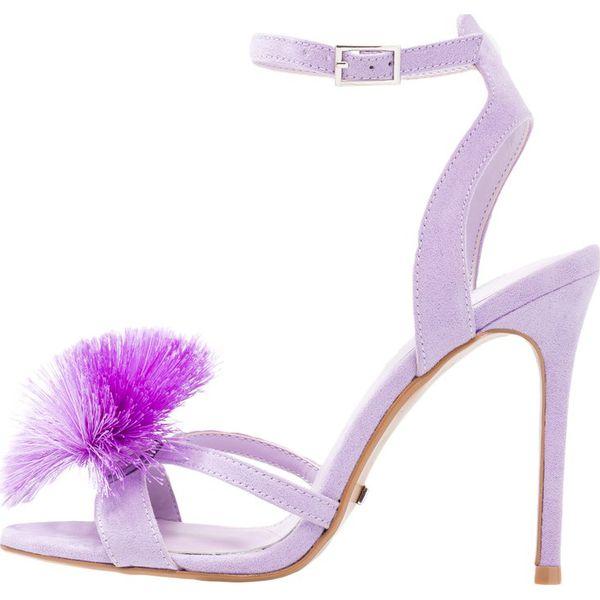 05c0538e00515 Topshop RENEE POM POM Sandały na obcasie lilac - Moda w Women's Health