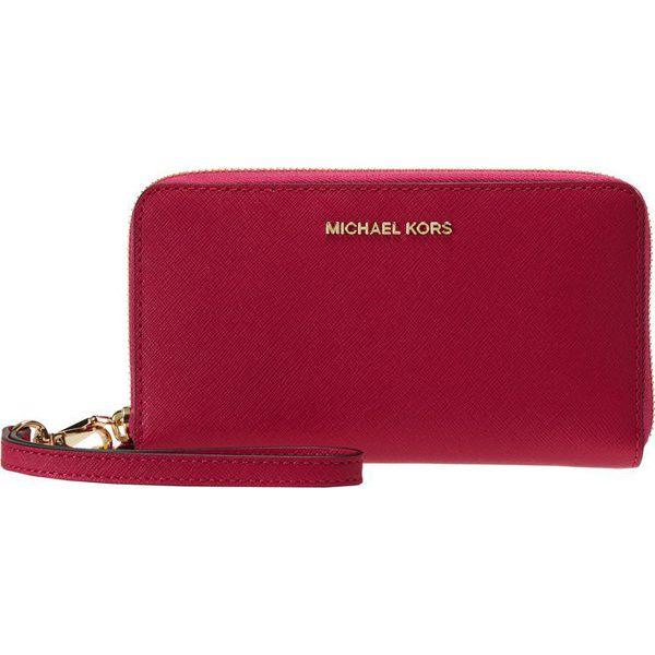 5459b5eec9567 MICHAEL Michael Kors JET SET TRAVEL Portfel ultra pink - Portfele ...