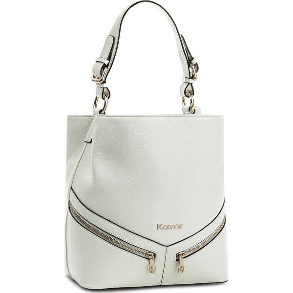 95d98fd9 Torebka KAZAR - Victoria 29059-15-01 White - Białe torebki klasyczne ...
