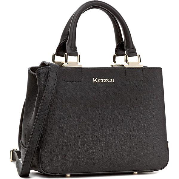 f54fb1630b0b4 Torebka KAZAR - Mona 25711-01-00 Czarny - Czarne torebki klasyczne ...